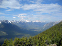 Banff Vista Royalty Free Stock Photography