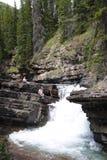 Banff-Wasserfall Stockfotografie