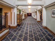 Banffet Springs Hotel Arkivfoto