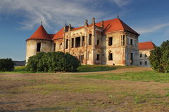 Banffy castle from bontida Stock Photography
