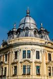Banffy Palace baroque building in Cluj-Napoca, Romania.  royalty free stock photo
