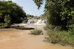 Banfora falls in Burkina Faso Royalty Free Stock Images