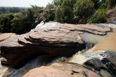 Banfora falls in Burkina Faso Royalty Free Stock Photos