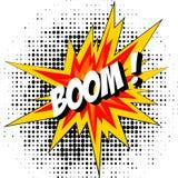 Bang av dynamiten för eps-explosion för extra bok 8 komisk vektor för illustratör för format Royaltyfria Bilder