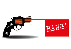 Bang bang Royalty Free Stock Photography