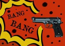 Bang bang Royalty Free Stock Photography
