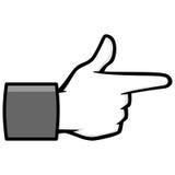 Bang Bang Social Media Icon Illustration Royalty Free Stock Image