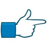 Bang Bang Social Media Icon. A vector illustration of a Bang Bang Social Media Icon Stock Photo