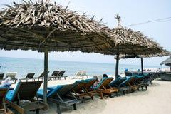 An Bang Beach, Hoi An, Vietnam.  royalty free stock photography