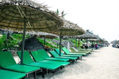 An Bang Beach, Hoi An, Vietnam Stock Image
