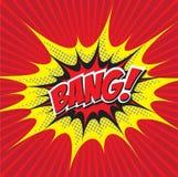 BANG! comic word Stock Image