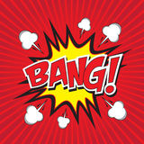 BANG! comic word Stock Photo