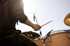 Bang the drum Stock Photo