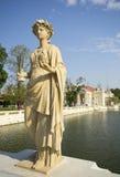 Bang Pa-In. Statue at Bang Pa-In Palace Ayutthaya Thailand (Summer Palace of the Thai king Royalty Free Stock Photography