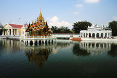 Bang Pa-In Aisawan, rayal summer palace,thailand Royalty Free Stock Images