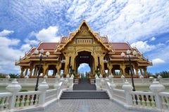 Bang Pa-In Aisawan Thipya-Art. (Divine Seat of Personal Freedom) at the Royal Summer Palace near Bangkok, Thailand Stock Photography