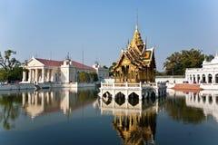 Bang Pa-In Aisawan Thipya-Art (Divine Seat of Personal Freedom). At the Royal Summer Palace near Bangkok, Thailand Stock Images