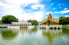 Bang Pa-In Aisawan Thipya-Art at the Royal Summer Palace Stock Images
