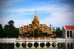 Bang-Pa-In palace Royalty Free Stock Images