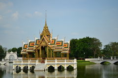 Bang Pa-In Palace Royalty Free Stock Photos