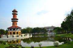 Bang Pa-In Palace. In  Ayutthaya  Province,Thailand Royalty Free Stock Photo