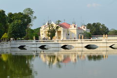 Bang Pa-In Palace. In  Ayutthaya  Province,Thailand Royalty Free Stock Image