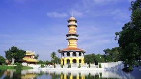 Bang Pa-In Palace. Landscape at Bang Pa-In Palace stock photos