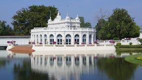 Bang Pa-In Palace. Landscape at Bang Pa-In Palace stock image