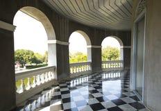 Bang Pa-In Palace 3. Beautiful walkway at Bang Pa-In Palace, Thailand Royalty Free Stock Images
