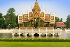 Bang Pa-In Palace. Aisawan Thiphya-Art in Ayutthaya, Thailand Stock Image