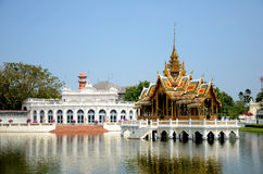 Bang-Pa-In palace in Ayudhaya, Thailand. Stock Photography