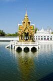The Bang Pa-in Palace in Ayuthaya Province Stock Photo