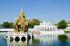 The Bang Pa-in Palace in Ayuthaya Province Stock Images