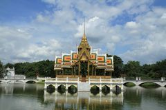 Bang pa in palace,Ayuthaya province,Thailand. Stock Photography