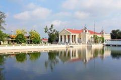 Bang Pa-In Palace stock image