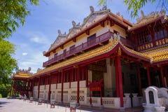 Bang Pa-In Palace. In Ayutthaya Province,Thailand Royalty Free Stock Photos