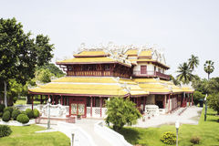 Bang pa-in Palace of Ayutthaya province Stock Image