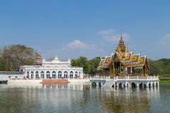 Bang Pa-in palace, Ayutthaya, Thailand. One of the most famous tourist attraction for central area of Thailand Royalty Free Stock Images