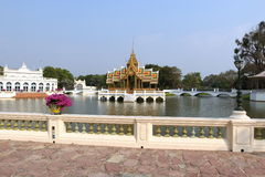 Bang Pa In Palace palace, Ayutthaya, Thailand Royalty Free Stock Photo