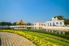 Bang-Pa-In. Palace in bang-pa-in park at ayutthaya province (Thailand Stock Photography