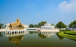 Bang-Pa-In. Palace in bang-pa-in park at ayutthaya province (Thailand Royalty Free Stock Images