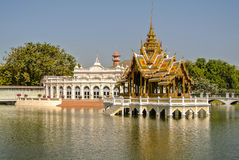 Bang Pa In Palace. Bang Pa-In Royal Palace or the Summer Palace, is a palace complex formerly used by the Thai kings in Ayutthaya Province Thailand Stock Images
