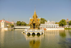 Bang Pa In Palace. Bang Pa-In Royal Palace or the Summer Palace, is a palace complex formerly used by the Thai kings in Ayutthaya Province Thailand Royalty Free Stock Photos