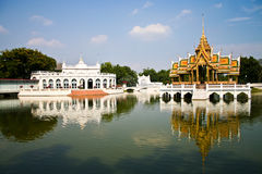 Bang Pa-In Palace  in Thailand. Bang Pa-In Palace Aisawan Thipya-Art (Divine Seat of Personal Freedom) Ayutthaya Thailand Stock Image