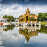 Bang Pa-In Palace. In Thailand Stock Image