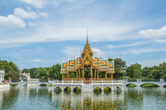 Bang Pa-In Palace Royalty Free Stock Photography