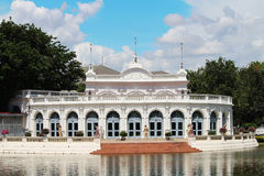 Bang Pa-In Palace in thailand. Background Royalty Free Stock Photography