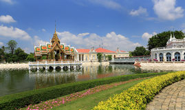 Bang Pa-In Palace in Thailand. Stock Photography