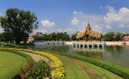 Bang Pa-In Palace in Thailand. Royalty Free Stock Photography