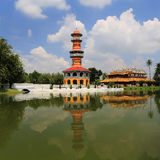 Bang Pa-In Palace in Thailand. Royalty Free Stock Images